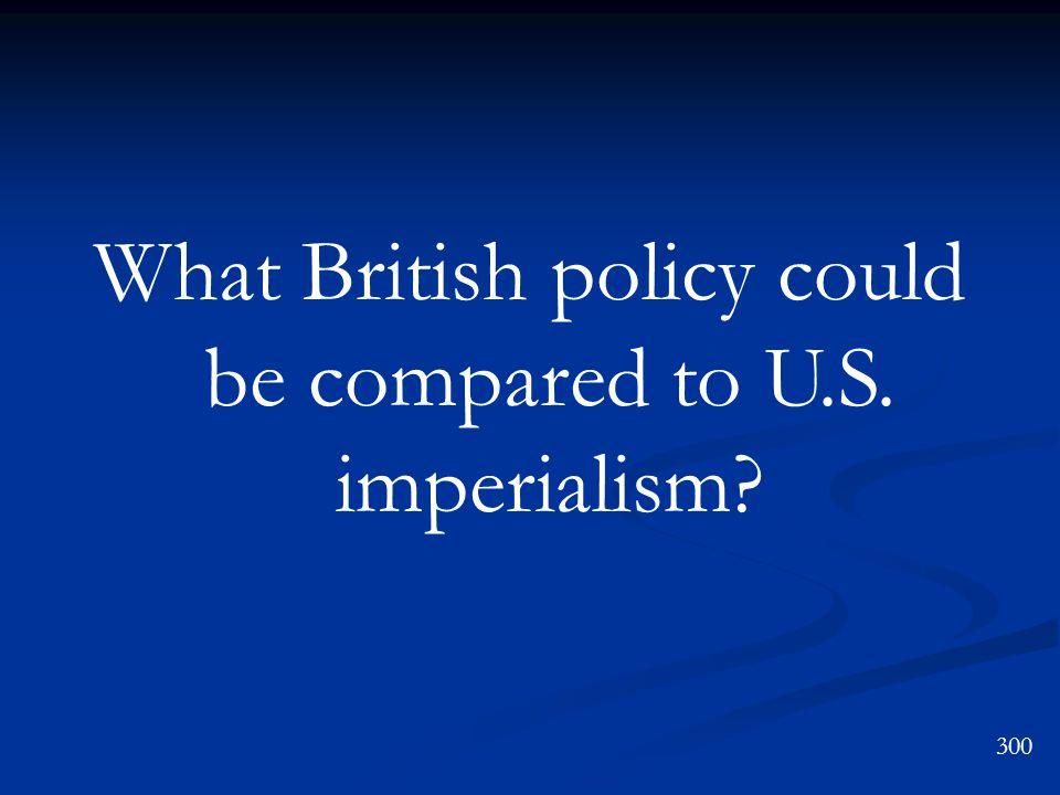 Isolation Imperialism