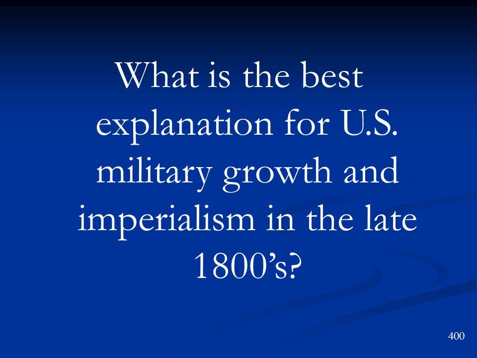 Mercantilism Imperialism