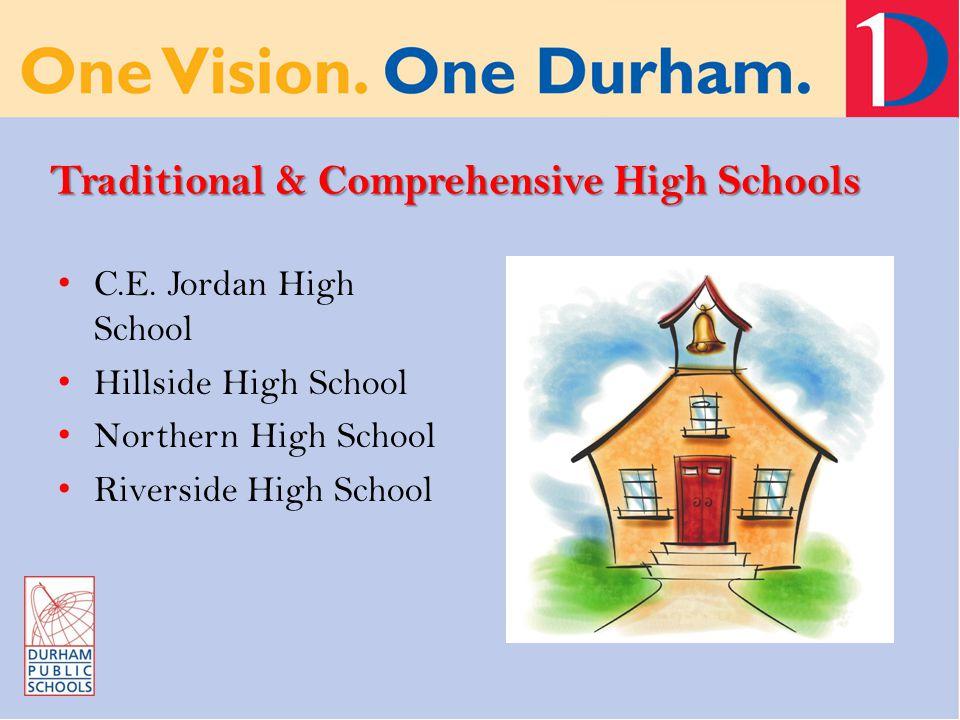 Traditional & Comprehensive High Schools C.E.