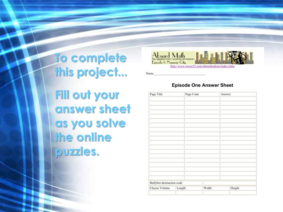 Start by going to this website READ and follow the directions on each page.