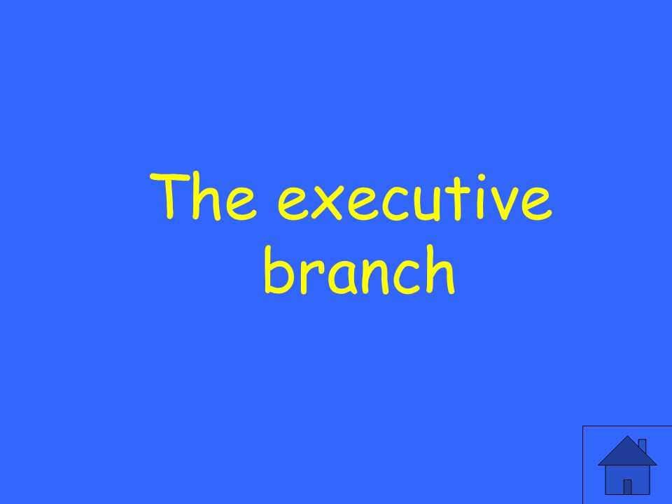 What branch is created by the second article that enforces laws