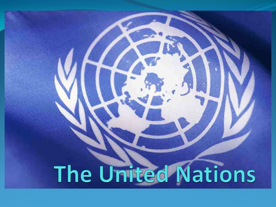 Origins of the UN Go back to WWI and the League of Nations President Wilson's idea of collective security Collective security is one type of coalition building strategy in which a group of nations agree not to attack each other and to defend each other against an attack from one of the others, if such an attack is made.