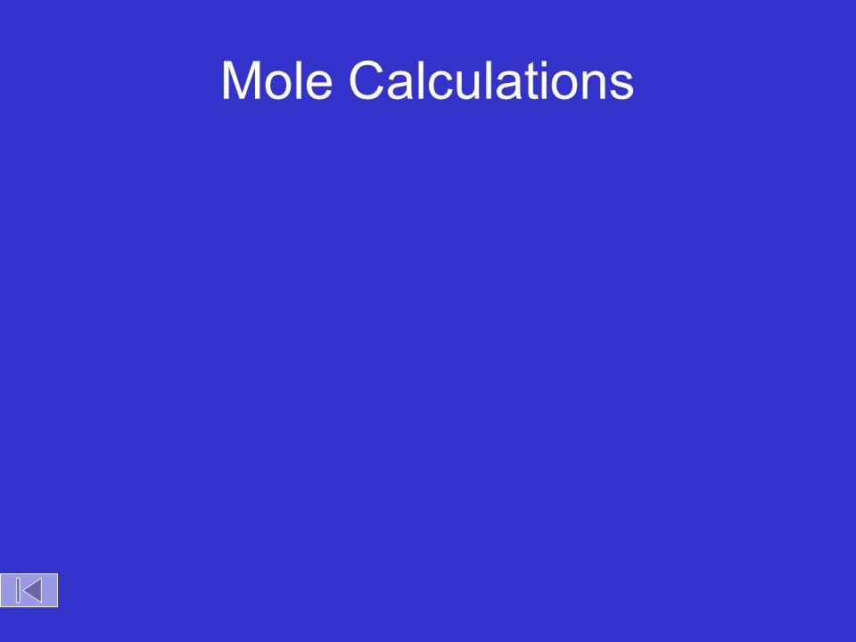 ? Visualizing a Chemical Reaction Na + Cl 2 NaCl ___ mole Cl 2 ___ mole NaCl___ mole Na 2 105 2 5
