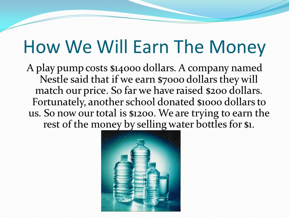 Why We Need To Build A Play Pump Many people in Africa do not have access to clean drinking water.