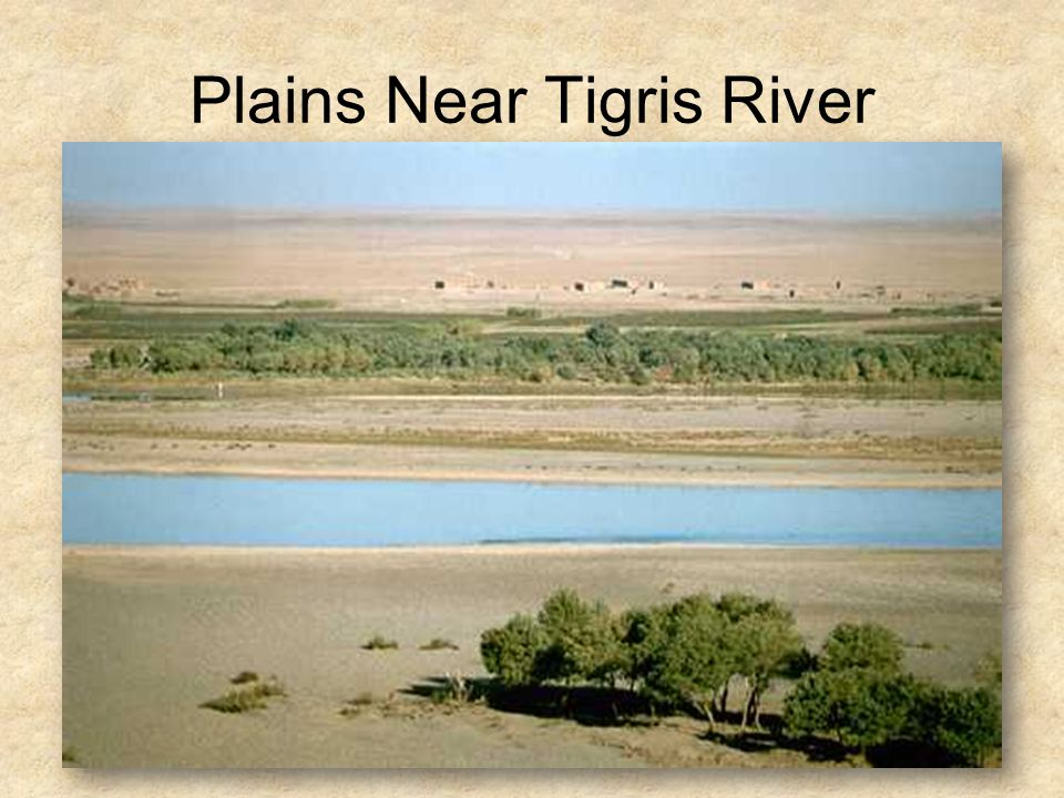 Plains Near Tigris River