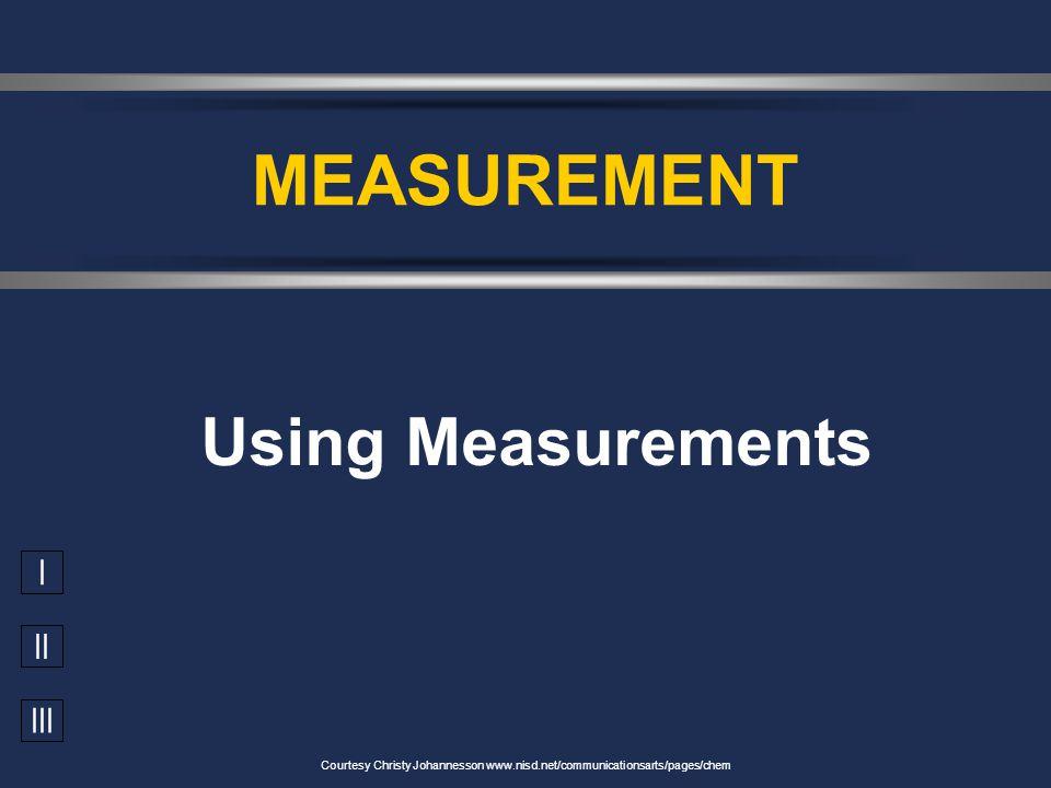 Measurements Metric (SI) units Prefixes Uncertainty Significant figures Significant figures Conversion factors Conversion factors Length Density Mass