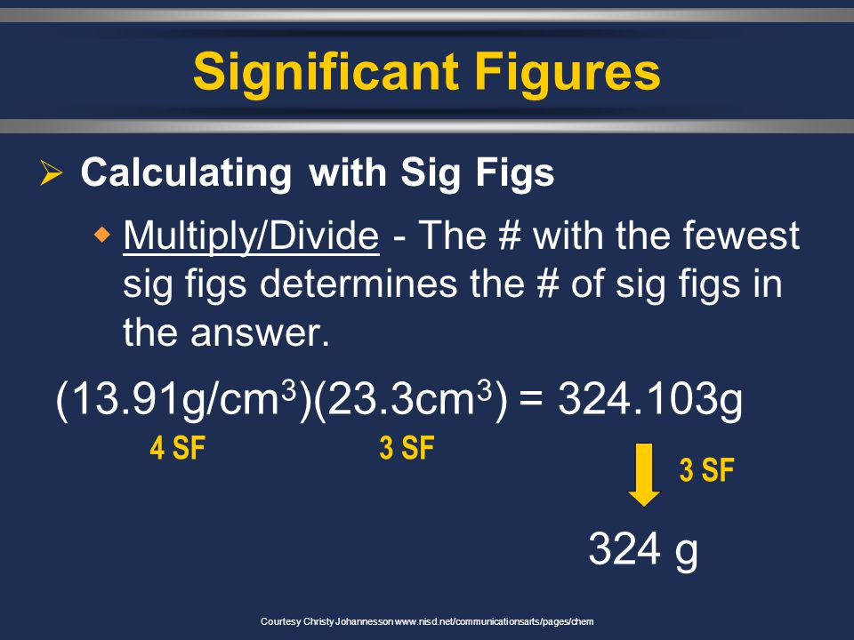 4. 0.080 3. 5,280 2. 402 1. 23.50 Significant Figures Counting Sig Fig Examples 1. 23.50 2. 402 3. 5,280 4. 0.080 4 sig figs 3 sig figs 2 sig figs Cou