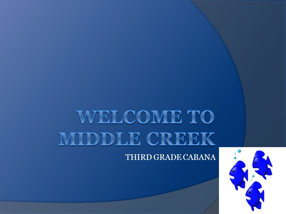 THIRD GRADE CABANA