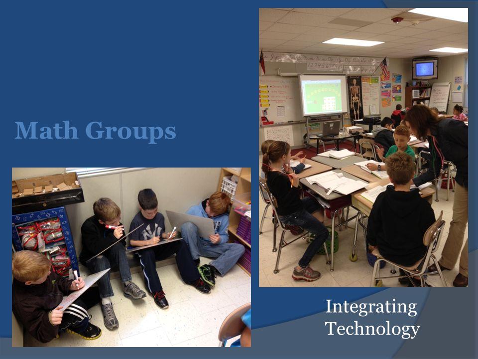 Math Groups Integrating Technology