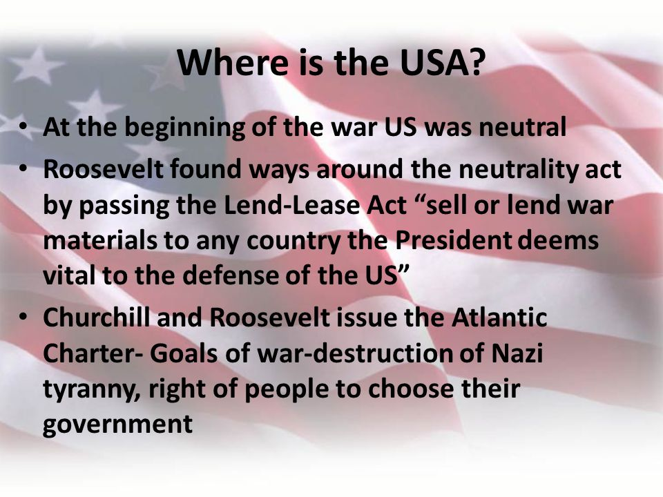 Where is the USA.
