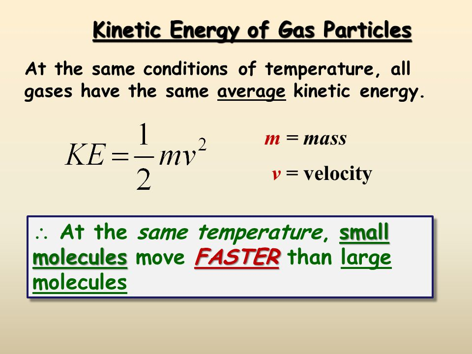 The Meaning of Temperature  Kelvin temperature is an index of the random motions of gas particles (higher T means greater motion.)