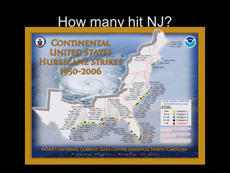 How many hit NJ
