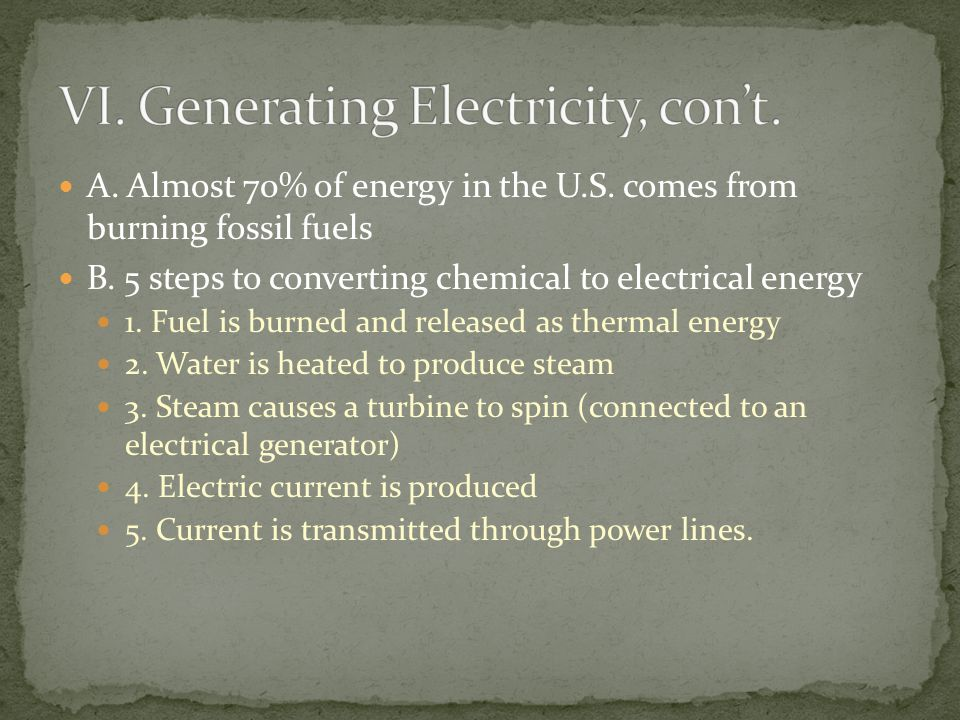 A.Only about 35% of the chemical energy is converted into electrical energy B.