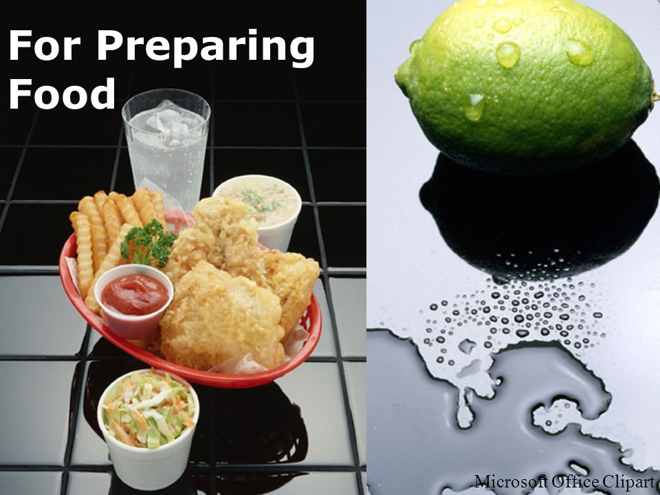 For Preparing Food Microsoft Office Clipart