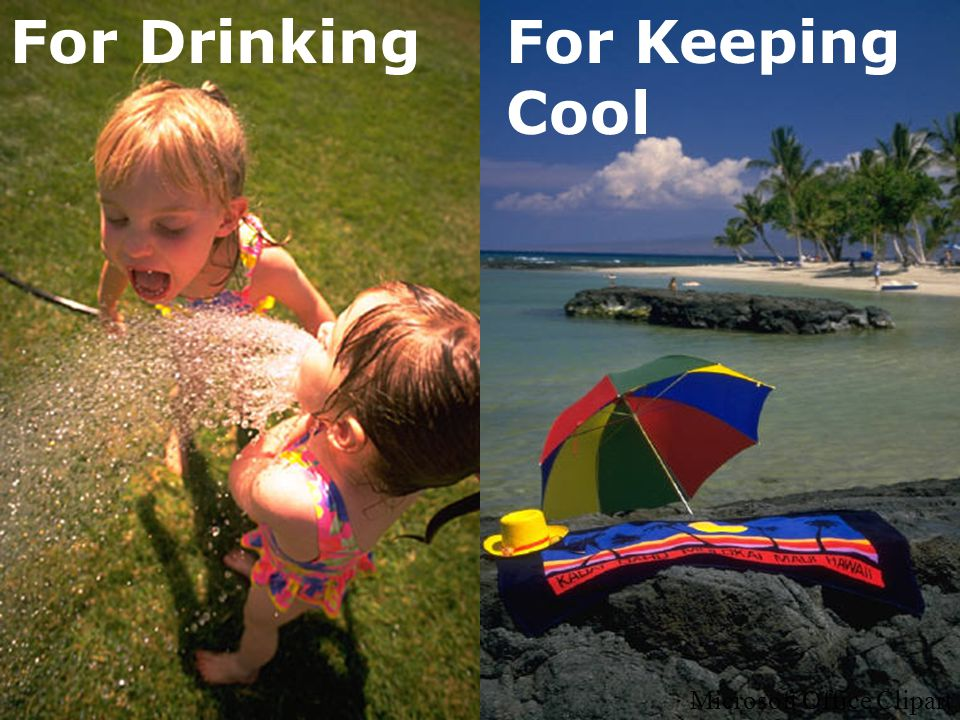 For DrinkingFor Keeping Cool Microsoft Office Clipart