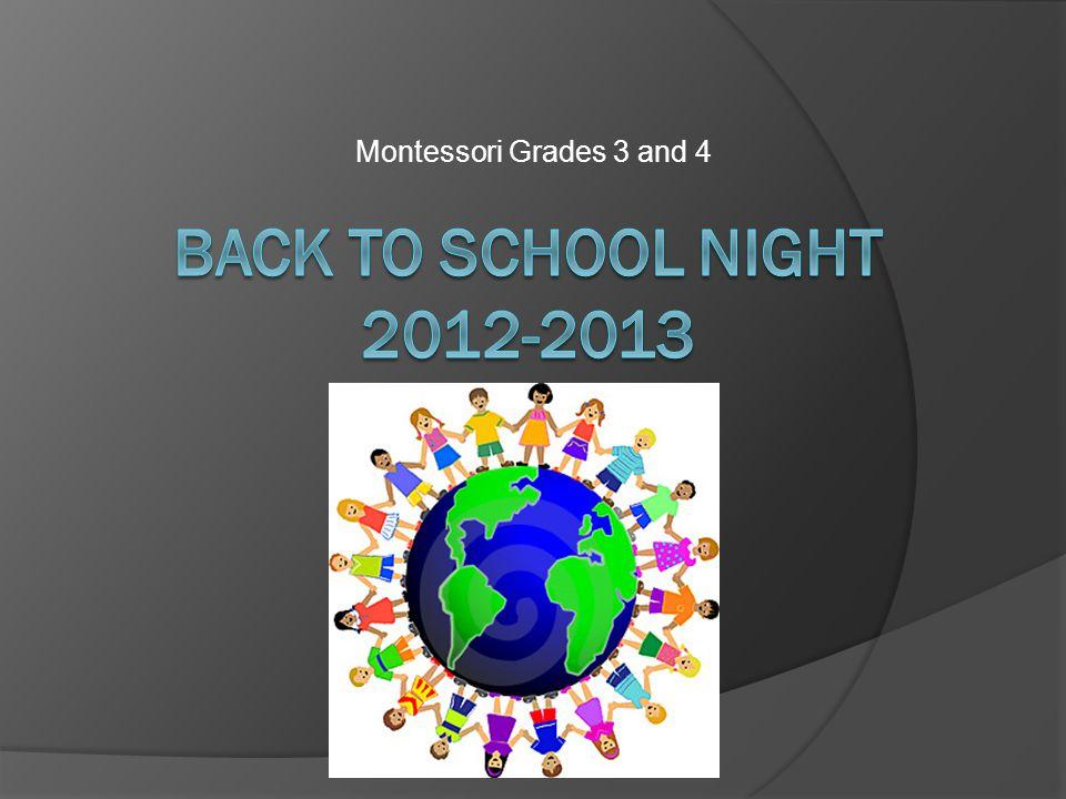 Montessori Grades 3 and 4