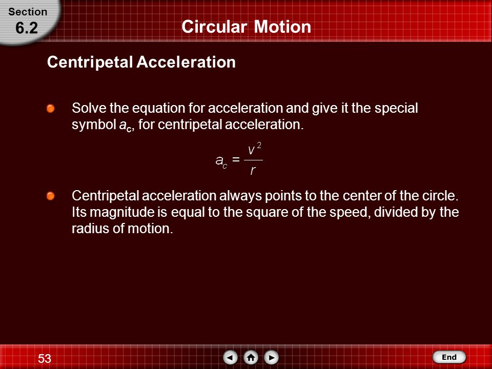 52 Circular Motion The angle between position vectors r 1 and r 2 is the same as that between velocity vectors v 1 and v 2.