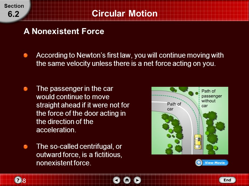57 Circular Motion When solving problems, it is useful to choose a coordinate system with one axis in the direction of the acceleration.