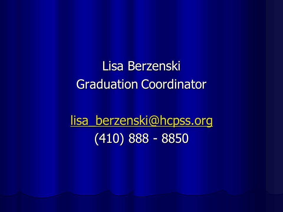 Requesting a Final Transcript Jill Altschuler, School Counselor Emily Mandile, Registrar 410-888-8860