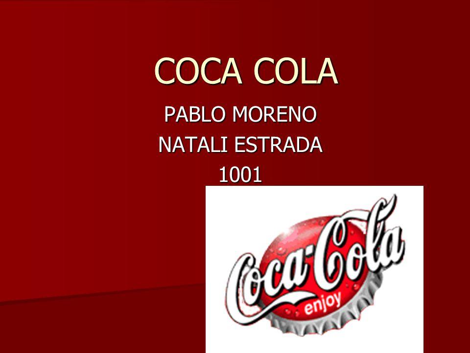COCA COLA PABLO MORENO NATALI ESTRADA 1001