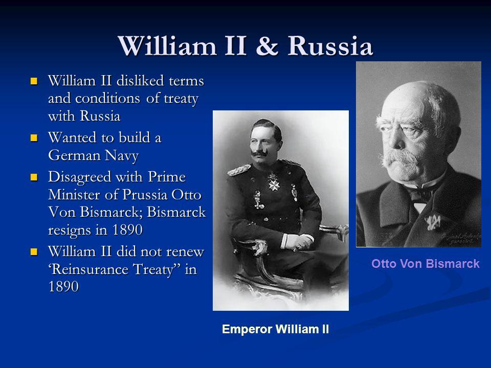 German Emperor William II Wilhelm II of Prussia and Germany, Friedrich Wilhelm Viktor Albrecht von Hohenzollern (January 27, 1859 - June 4, 1941) was