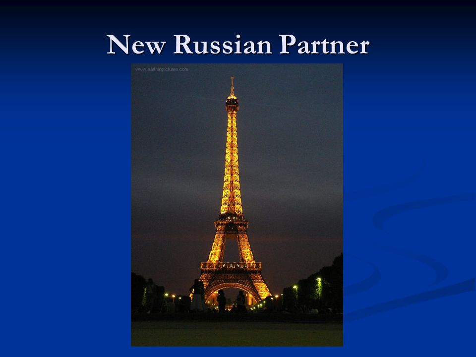 So, what's Russia to do? Procure a partnership with another country Procure a partnership with another country Question for YOU!! Which country/countr