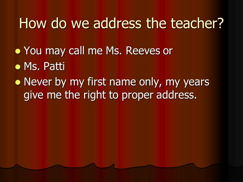 Who is this teacher as a person.I have 30years teaching experience.