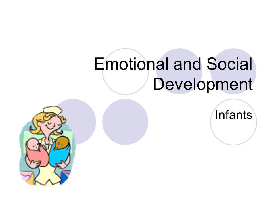 Emotional and Social Development Infants