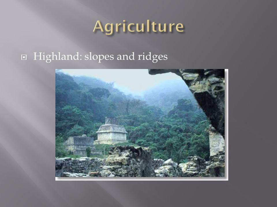  Highland: slopes and ridges