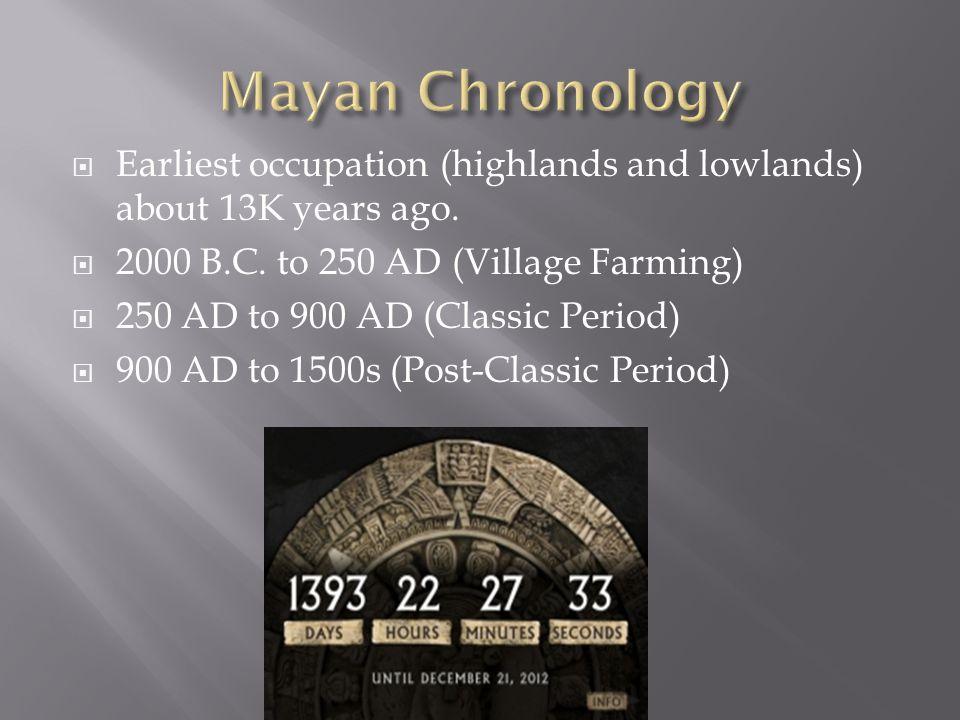 The Maya Area