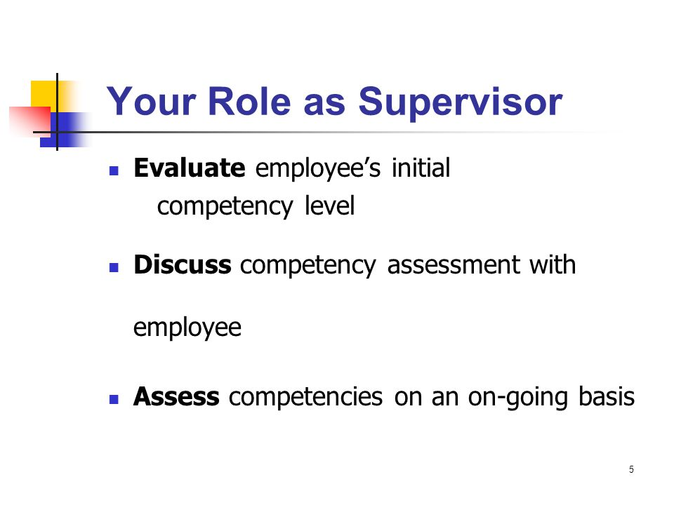6 Your Role (cont'd.) Provide detailed documentation for: employee competency assessment special focus on documenting competency expectations which have not been consistently demonstrated proposed salary adjustments (not currently an option due to budget freeze) Plan career development activities with each employee Assess and apply pay factors equitably