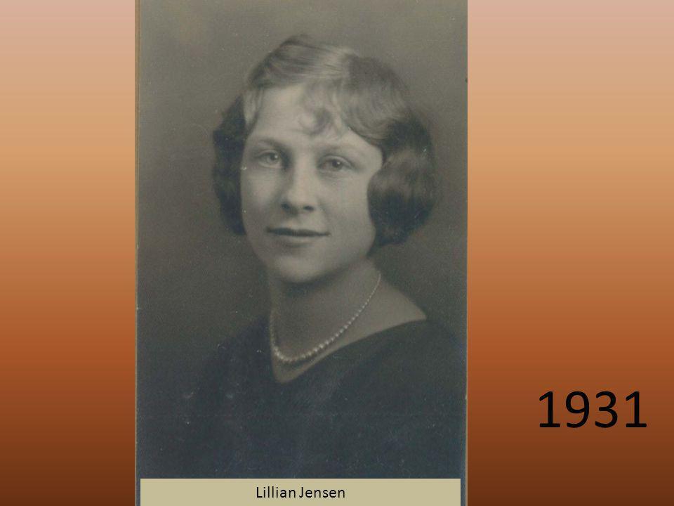 1931 Lillian Jensen