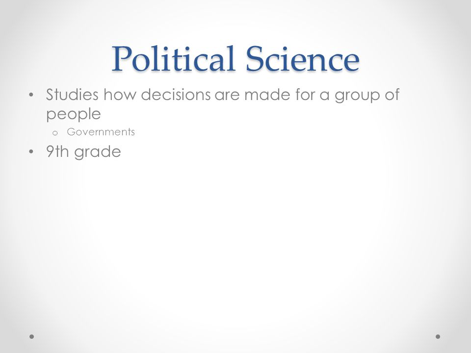 There are 8 Social Sciences History Political Science Anthropology Sociology Economics Psychology Geography Theology