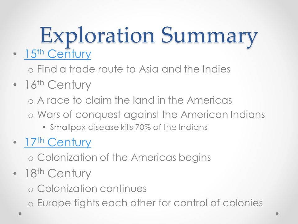 Exploration of the Americas New Spain New France New Netherlands