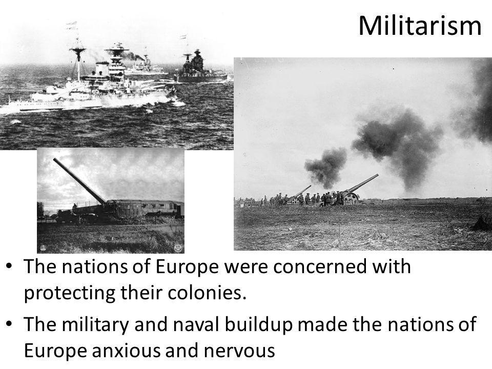 Militarism Alliances Nationalism Imperialism Assassination