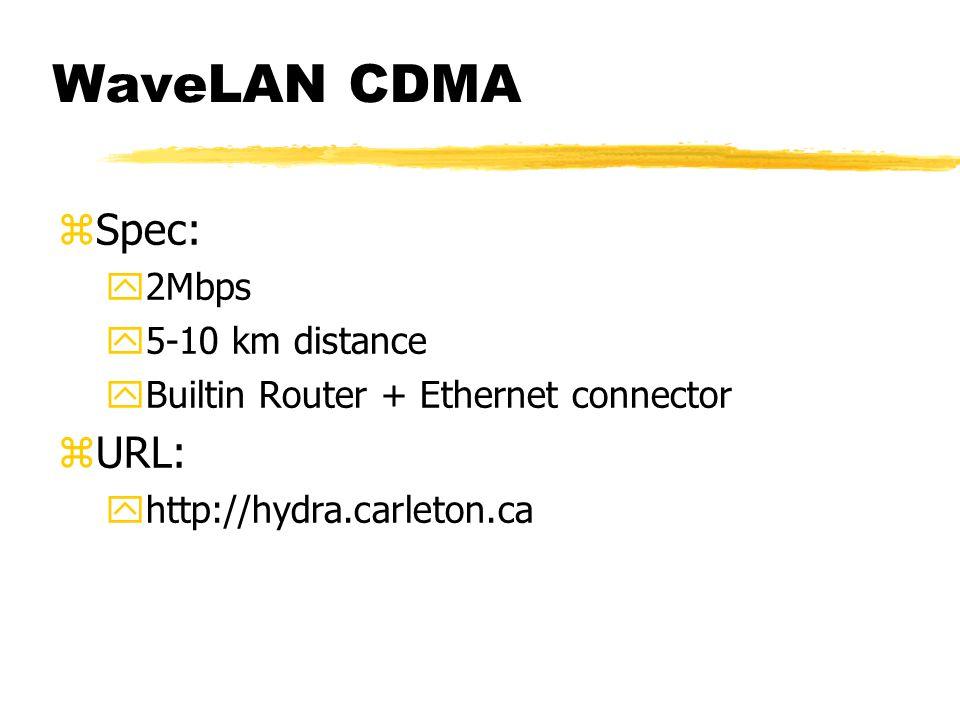 WaveLAN CDMA