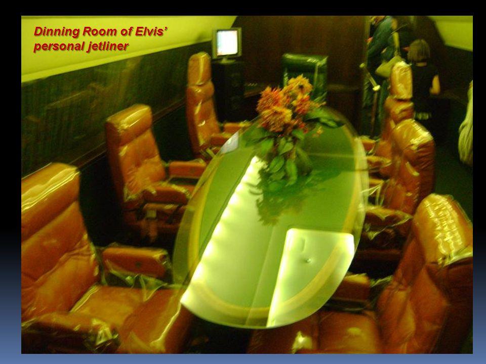 Inside Elvis' personal Jetliner