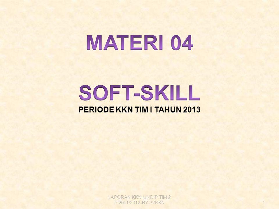 1 LAPORAN KKN-UNDIP-TIM-2 th2011/2012-BY P2KKN