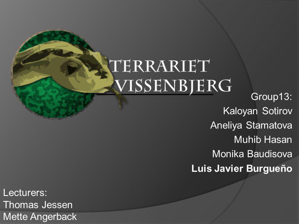 Redesign Website for TERRARIET VISSENBJERG OLD WEBSITE