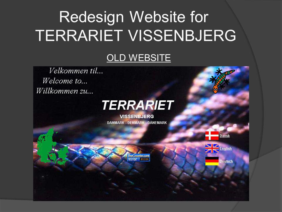 Introduction TERRARIET VISSENBJERG TERRARIET VISSENBJERG is a specialized zoo containing one of Scandinavia s largest collections of reptiles and amphibians, scorpions, spiders, insects, etc.