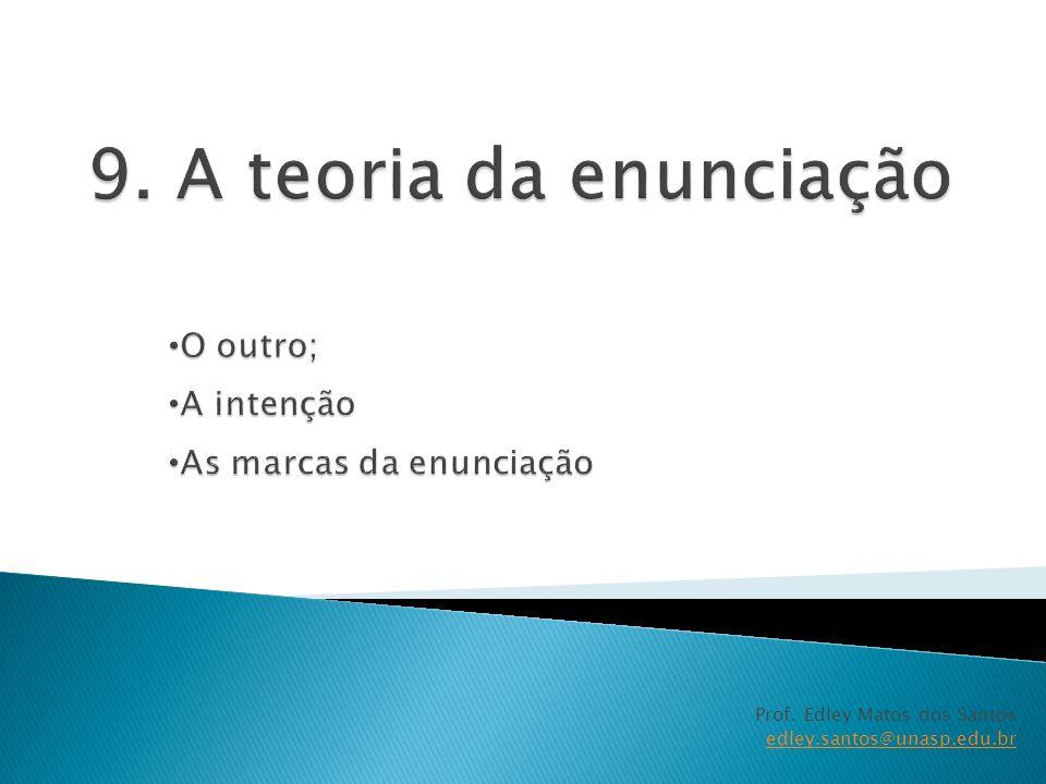 Prof. Edley Matos dos Santos edley.santos@unasp.edu.br