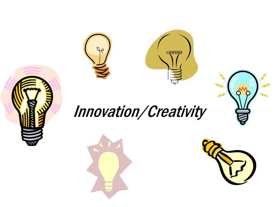 Innovation/Creativity