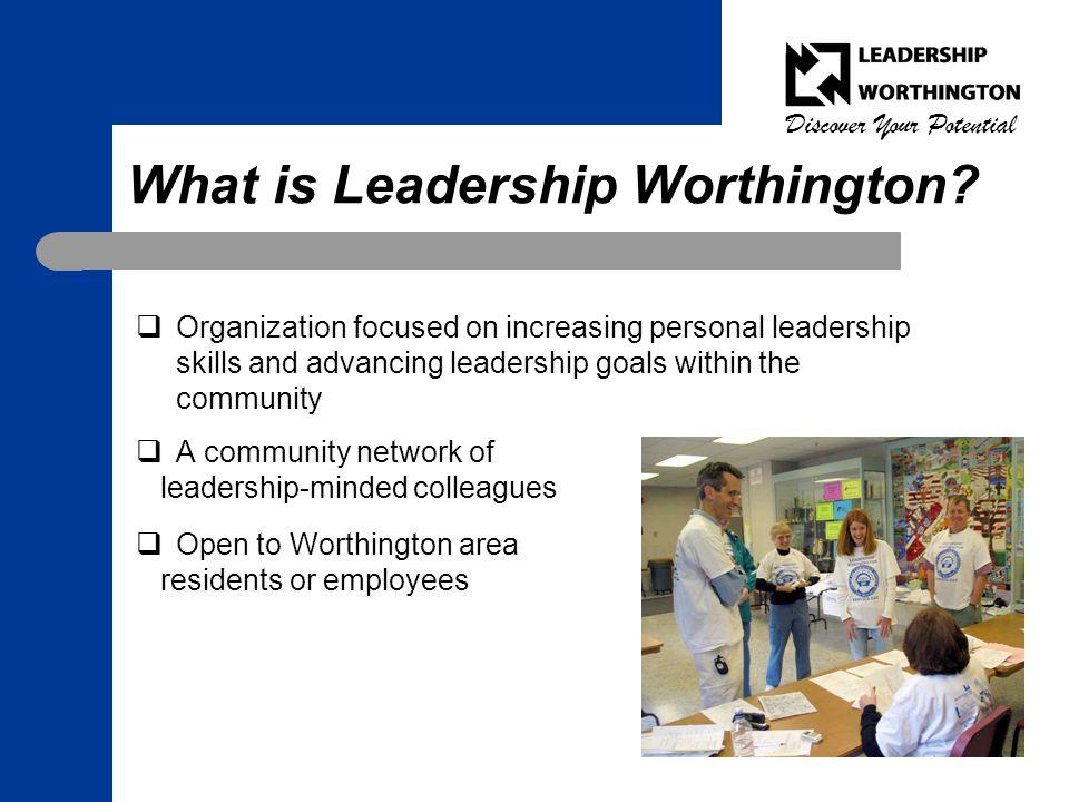 What is Leadership Worthington.