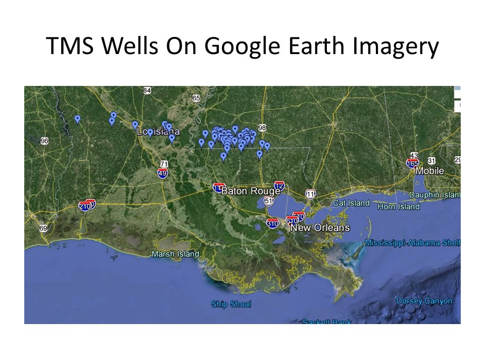 TMS Wells On A Map