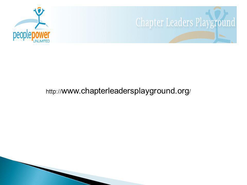 http:// www.chapterleadersplayground.org /