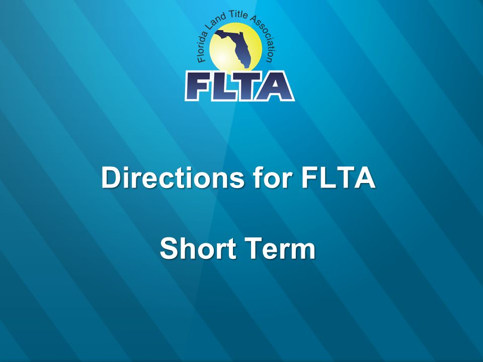 Directions for FLTA Short Term