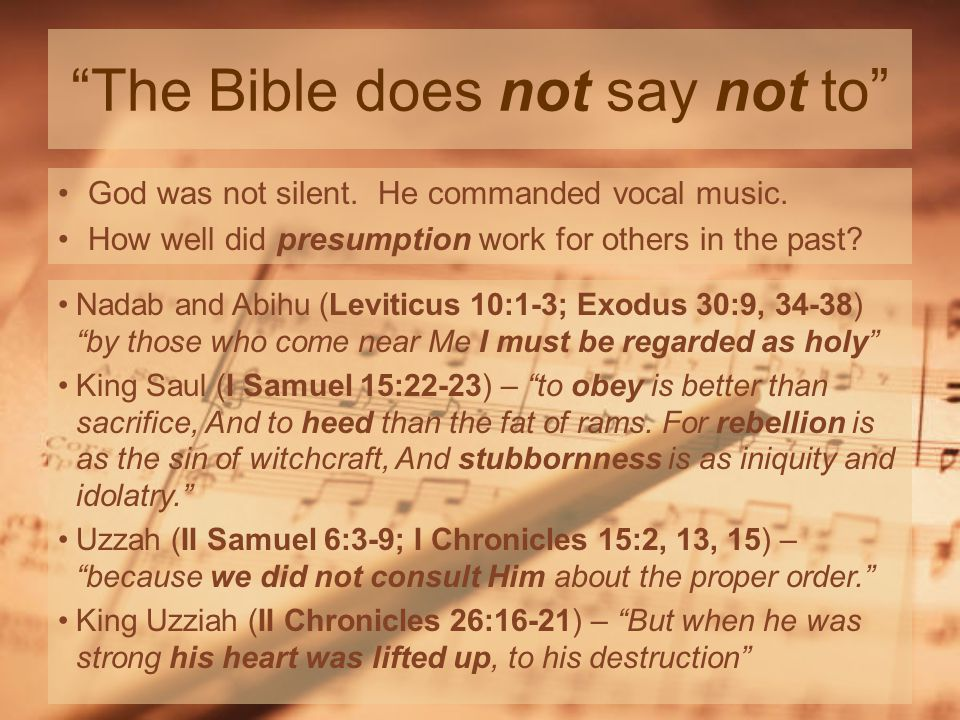 The Bible does not say not to God was not silent.