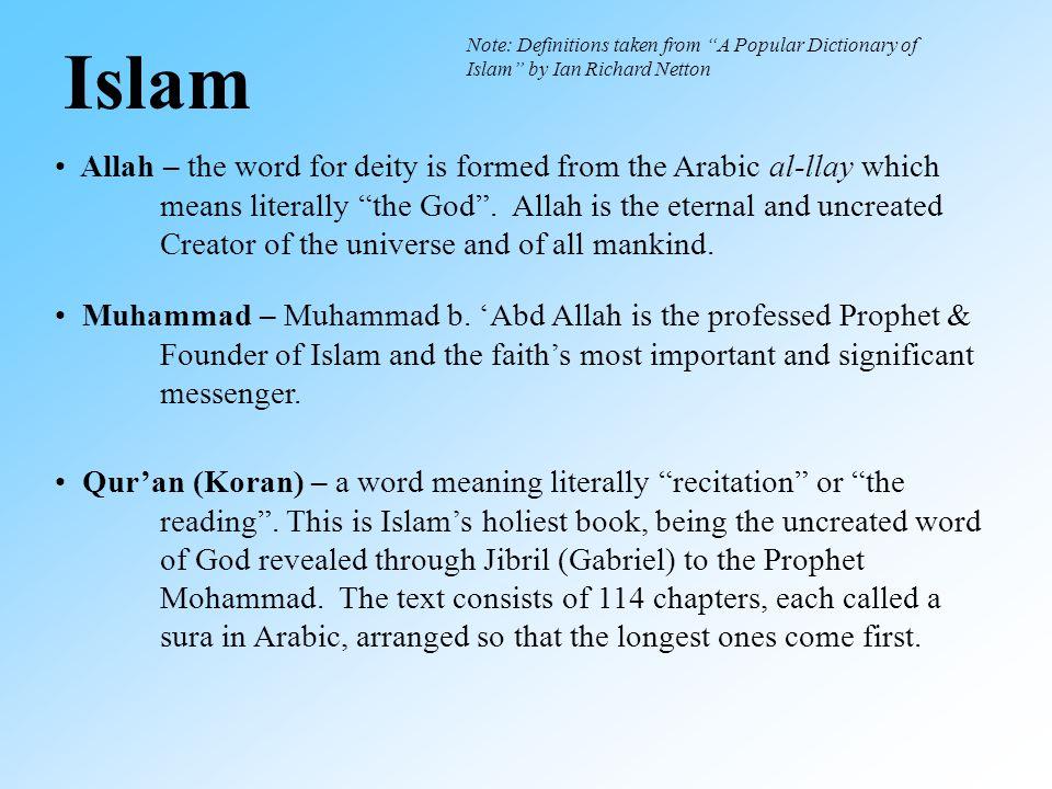 Islam Muhammad – Muhammad b.