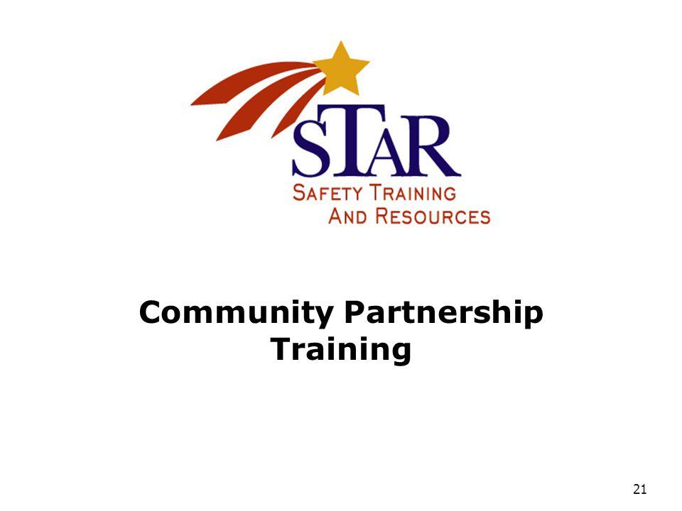 21 Community Partnership Training