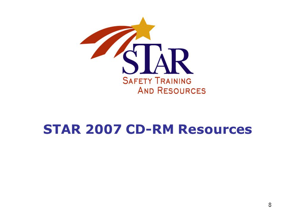 8 STAR 2007 CD-RM Resources